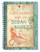 Beach Notes-jp3763 Spiral Notebook