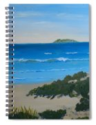 Beach On The North Coast Of Nsw  Spiral Notebook