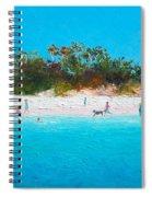 Beach Painting All Summer Long Spiral Notebook