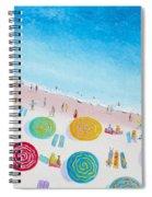 Beach Painting - Beach Bliss Spiral Notebook