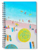 Beach Painting - Lazy Lingering Days Spiral Notebook