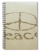 Beach Peace Spiral Notebook