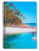 Beach Picnic Spiral Notebook