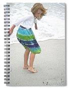 Beach Play Time Spiral Notebook