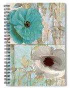 Beach Poppies II Spiral Notebook