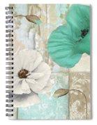 Beach Poppies Iv Spiral Notebook