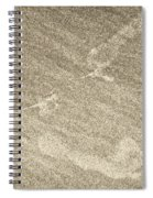 Beach Prints Spiral Notebook