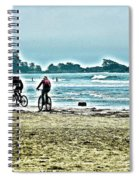Beach Ride Spiral Notebook