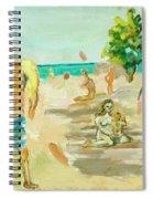 Beach Scence Spiral Notebook