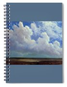 Beach Scene Albert Bierstadt Spiral Notebook
