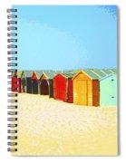 Beach Shacks Down Under Spiral Notebook
