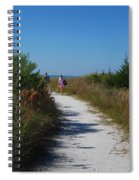 Beach Stroll Spiral Notebook