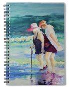 Beach Strollers II Spiral Notebook