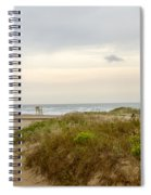 Beach Sunrise At South Padre Island, Tx Spiral Notebook