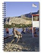 Beach Throw Down Spiral Notebook