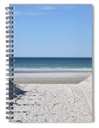 Beach Time Entrance Spiral Notebook