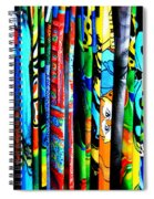 Beach Towels Spiral Notebook
