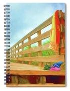 Beach Visit Spiral Notebook