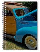 Beach Wagon Spiral Notebook