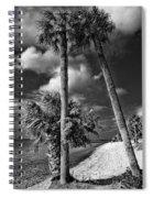 Beach Walk - Port Charlotte Beach Park, Florida Spiral Notebook