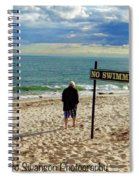 Beach Walking Spiral Notebook