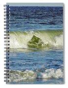 Beach Waves Spiral Notebook