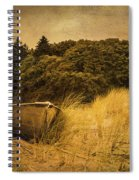 Beached Boat Spiral Notebook