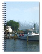 Beached Buoys Spiral Notebook