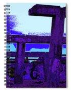 Beachside Sculpture Spiral Notebook