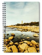Beacon Beach Spiral Notebook