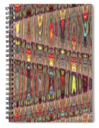 Beaded Curtain Spiral Notebook