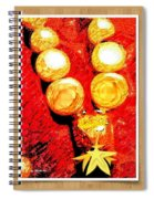 Beads And Baubles Spiral Notebook