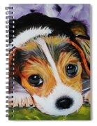 Beagle Pup Spiral Notebook
