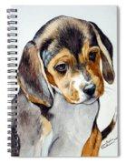 Beagle Puppy Spiral Notebook