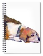Beagle Thoughts Spiral Notebook