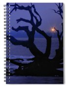 Beam Me Up To The Beach Spiral Notebook