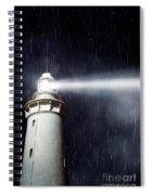 Beaming Lighthouse Spiral Notebook