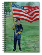 Beaming With American Pride Spiral Notebook