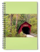 Bean Blossom Bridge II Spiral Notebook