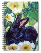 Bean The Magical Rabbit -pet Portrait Spiral Notebook