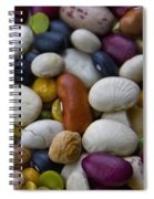 Beans Of Many Colors Spiral Notebook