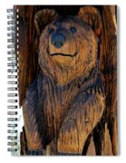 Bear Art Spiral Notebook