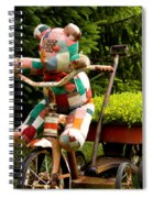 Bear Delivery Spiral Notebook