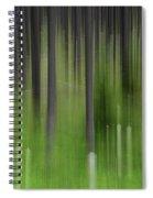 Bear Grass And Lodgepoles Spiral Notebook