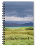 Bear Lake From Us 89 Spiral Notebook