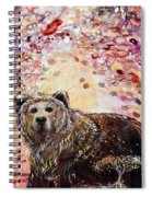 Bear With A Heart Of Gold Spiral Notebook