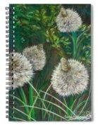 Bear Paw Grass Spiral Notebook