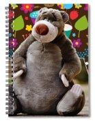 Bear Playtime Spiral Notebook