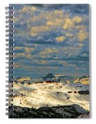 Bear Tooth Mountain Range Spiral Notebook