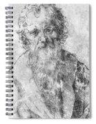 Bearded Man Spiral Notebook